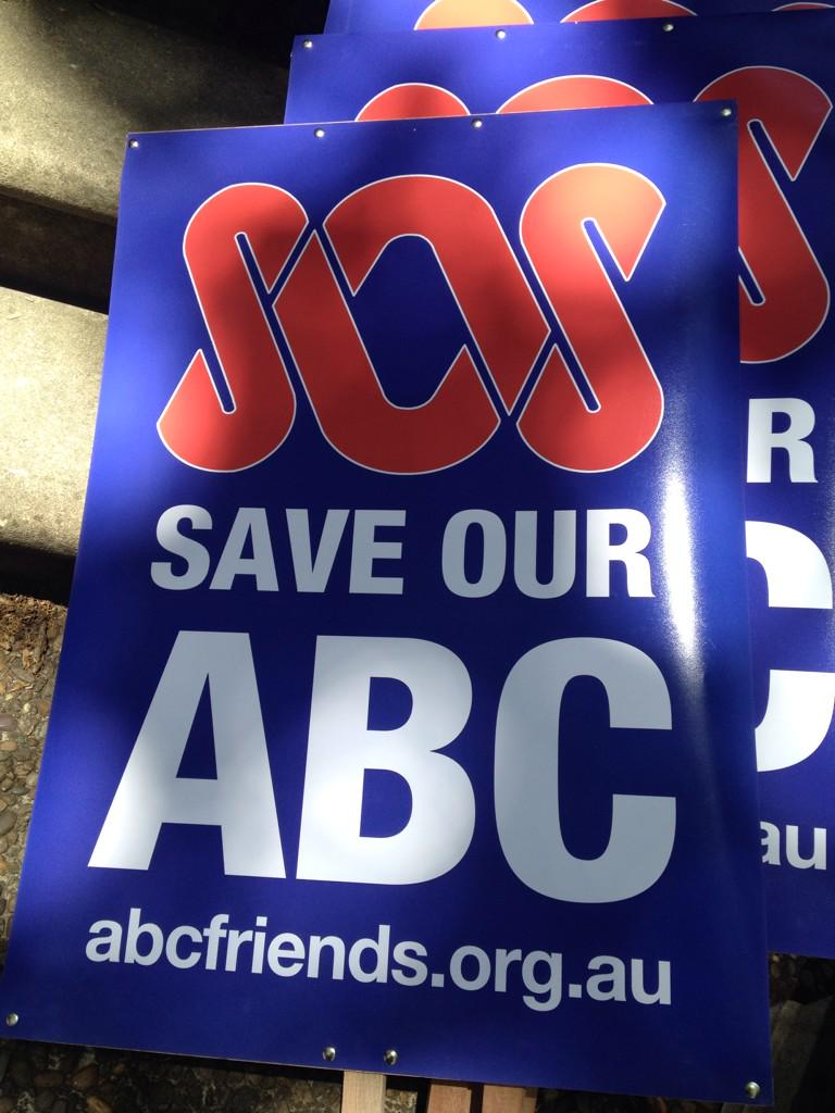 I haven't been to a rally since the Vietnam war Nothing's more important than #OurABC http://t.co/LjYyQAGEDG