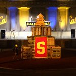Bonfire Rally begins at 7 (doors open at 6).  Dont miss out on this incredible Cal experience http://t.co/2mhXUWOTtg