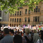 Looks like a big turnout at the #OurABC rally. RT @carolduncan Oh hai! #OurABC http://t.co/mcUyLhHdQN