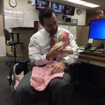 We had a special visitor at @KMTR today. Loved seeing Little A @TySteeleNEWS @DrStephSteele 😊 http://t.co/N3e3TLtWlI