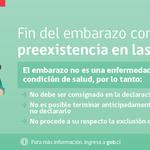 Las Isapres NO pueden excluir tu embarazo de la cobertura. Haz RT para difundir esta información. http://t.co/dygWLRIbR9