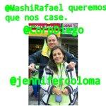 @MashiRafael queremos que nos case @CorpDiego @jennifercoloma diga que siiii #MashiCaseAlaColoma http://t.co/odHLcrlpbU