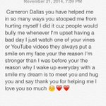 Could everyone please rt this  I want @camerondallas to see this would mean a lot ☺️🙏 http://t.co/7NOn0iwbuW
