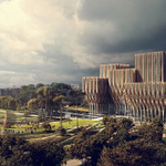 Zaha Hadid's stunning new genocide memorial in Cambodia opens: http://t.co/5FHD1qX3m3 http://t.co/xmw4R8ZFOh