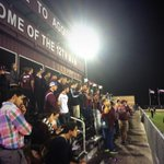 Awesome showing by the #12thMan tonight at Ellis Field! http://t.co/VRC4WB83Ij