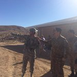 #COAS visited US Mil National Training Centre(NTC) at Fort Irvin,California today.Reviewed/appreciated US trg system http://t.co/pjRkdzHvgY
