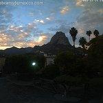 Los contrastes en el cielo de Bernal #Querétaro hoy al atardecer: http://t.co/YvGoDCioei