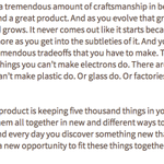 Steve Jobs in 1995 on the craftsmanship required for great products: http://t.co/KaEwbjWPQ3