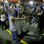 Oh, yeah, its protesters we should be worried about being violent in #Ferguson after grand jury decision... http://t.co/6H5Uerua1C