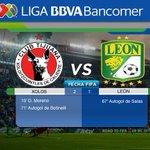 71 Goooooooool de Xolos que recuperan la ventaja por marcador de 2-1 ante León http://t.co/b5fmI4sZkN