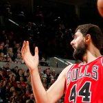 Final: Trail Blazers 105, Bulls 87. Career-high 24pts 11reb for Nikola Mirotic. #CHIvsPOR http://t.co/rVmzYdLt58
