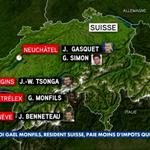 [Infographie @JTCanal] Tous les joueurs français qui affrontent la Suisse en finale de #CoupeDavis...vivent en Suisse http://t.co/EP9s3aQZRg