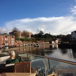 I cant believe it is November. Exeter Quay looking glorious http://t.co/AkJkAS4q62