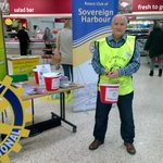 Collecting with Ray for Canine Partners one of our Rotary Club Charity at Morrisons in Eastbourne this morning. http://t.co/wLakcq5xxv