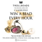 Win a bead every hour see instore for details..! #cambridge #Trollbeads #comp http://t.co/OqmV8TwFw7