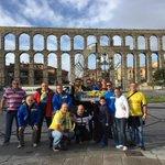 El primer grupo de #AmarillosXMundo ya está en Segovia, preparados para el Valladolid - @UDLP_Oficial   #VamosUD http://t.co/Cb8AZ7HR1U