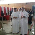 المستشار عبدالله بن حسن البوعينين المدير التنفيذي للانتخابات يزور المركز العام بجامعة البحرين #بصوتك_تقدر http://t.co/uawH9ewXHh