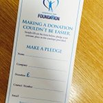 Today we have the @townfoundation game, pls give generously. In @PartnersSuite @JohnWilliams672 will explain (JPW) http://t.co/drtDSlPYDF