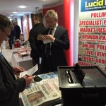 DUP members, inc. Ian Paisley Jnr., voting in our ballot re. Unionist pacts at the @duponline conf. #DUP14 @BelTel http://t.co/ag5rur2KV6