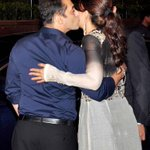 RT @dnaAfterHrs: Guess who? Which actress got air kissed by #SalmanKhan at Arpita's reception http://t.co/SDlysFZLJW