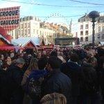 Inaug marche de noël place rihour av Martine Aubry .la magie de noël est en route ! http://t.co/8ncHwsIWF5
