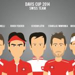 Swiss Team @rogerfederer @stanwawrinka @mchiudinelli33 @lammer82 @swiss_tennis #SupportTheSwiss #DavisCupFinal #Allez http://t.co/ghgt5nEHK9