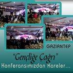 """#KonferanslarımızıOnlarİptalEttilerBizEtmedik  Gaziantep """"Gençliğe Çağrı"""" Konferansımızdan Kareler http://t.co/so0uCBnC6X"""