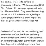 Found a no never in a DUP conference speech, its Gregory Campbell with re an Irish language act, excerpt of speech http://t.co/oa42vKs8mz