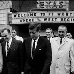 Fort Worth, Texas, this morning 1963:   #AP http://t.co/E9fFqZfXqS