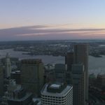 A beautiful sunrise but it is cold! Bundle up! Temps will warm throught the weekend into the 50s tomorrow! #WCVB http://t.co/ybqzOMR4aD
