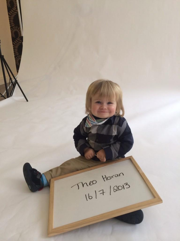 We have just signed the cutest little boy Theo who is the nephew of @NiallOfficial #sooocute!