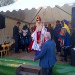 Ook Sinterklaas is van de partij om de kanjers van #krimpen te eren. http://t.co/DQuS3YwFCL