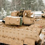 Latvia -- M2A3 Bradley Fighting Vehicles in live-fire training exercise at Ādaži Training Area http://t.co/FMLVYdIwfp