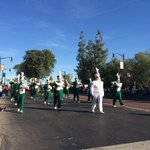 Campo Verde High School marching their way down the parade route. #GilbertDays http://t.co/dFWzvah6gc