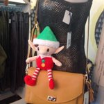 Just caught @ElfInTheCity trying to sneak a ride to your holiday party on our @RokiDiva bag #Dartmouth http://t.co/MzAgwYYIH5