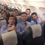 Rumbo a Madrid para mañana jugar contra el Rayo #halacelta #ilusión #motivación http://t.co/24a69Nz3pi