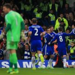 Chelsea faz, em 2014/15, seu melhor início de Premier League (32 pontos em 12 jogos). Superou os 31 de 2005/06 https://t.co/MIy6EgM33W