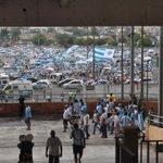 Torcida do @sigaPaysandu já está chegando, em grande número, ao Mangueirão http://t.co/8aurpleepu