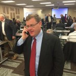 Rep. @timmoorenc receives congratulations call from Gov. @PatMcCroryNC #ncpol http://t.co/MoNteC0hpO