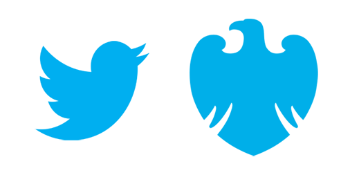 Today my eldest asked me if the Barclays logo is the Twitter bird's dad. http://t.co/qITcIcosUh
