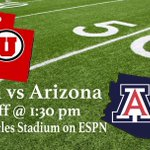 Arizona and Utah meet up under the national spotlight today at 1:30 pm. #Arizona #Wildcats #Beardown #cats #Ar1zona http://t.co/YWEOB2Wy0f