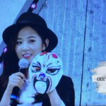 [Trans] Yuri drew a heart on the nose of her mask cr:BBsYUL1701903 http://t.co/0JX5fb93rH