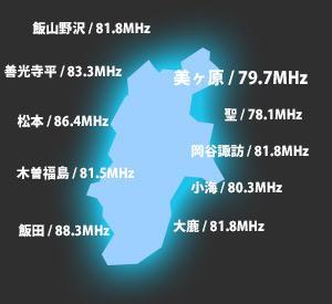 長野県で余震と見られる地震が続いています。情報収集に電池式のFMラジオを停電に備えご用意いただくことをおすすめします。現地のFM長野の地域別周波数はこちらです。 #alert http://t.co/EWFeDTopBJ