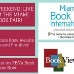 RT @BookViewNow: @tavissmiley you will be live streamed @ the @MiamiBookFair http://t.co/uB5uupesbZ http://t.co/2VjP4Hy5Ed