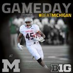 GAMEDAY at the Big House! @MarylandPride battles Michigan today at 3:30pm on BTN. #GoTerps #BeatMichigan #WhiteOps http://t.co/3pnQoUI8l1