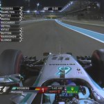 Rosberg of @MercedesAMGF1 claims pole for the #AbuDhabiGP, ahead of Hamilton, Bottas and Massa #F1 http://t.co/FVK9nvEF71