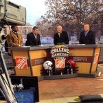 Coming to you live from Cambridge, its @CollegeGameDay #GameDayAtTheGame #GetUp4GameDay #BeatYale #HY2014 #GoCrimson http://t.co/TpJeK8oag6