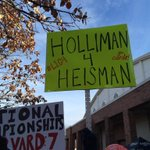 Best sign at Gameday @CardChronicle #L1C4 #Holliman4Heisman http://t.co/WlaKmBM93j