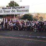 Moments before the start. #ElTourDeTucson this morning at 7am. @TourDeTucson @CraigReckNews #Tucson Good luck to all! http://t.co/yZ16vd1TT8