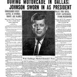 51 years ago. MT @baltimoresun JFK Assassination: The Sun Front Page, Nov. 23, 1963 http://t.co/5y1mAO6fmC http://t.co/HVbkgFVlqn